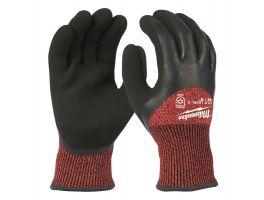 Gedipte winterwerkhandschoenen snijklasse 3 Winter Level 3 Gloves