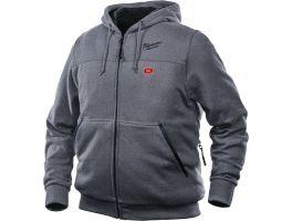 M12™ grijze heated hoodie M12 HH GREY3